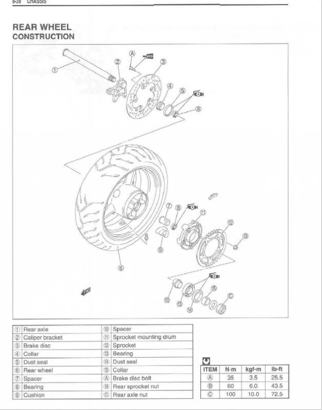 2005 Gsxr600 Service Manual Suzuki Gsxr Forum
